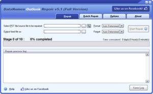 Datanumen Datanumen Outlook PST Repair Tool
