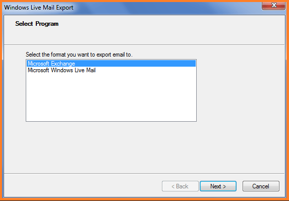 windows live mail to outlook pst free