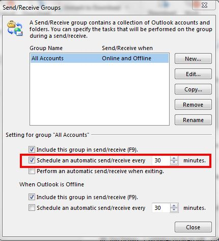 remove duplicate mails in outlook