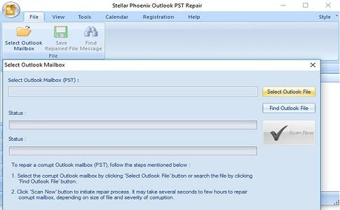 Stellar Outlook PST Repair Tool