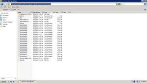 exchnage server log files error