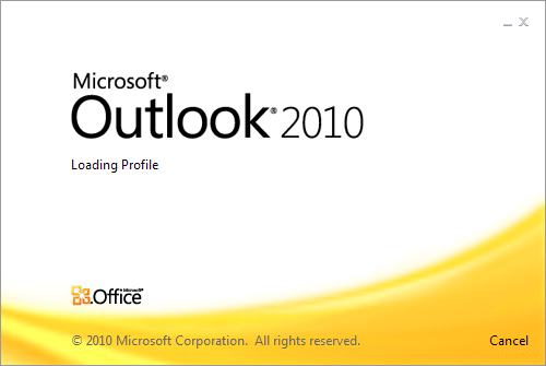 launch ms outlook