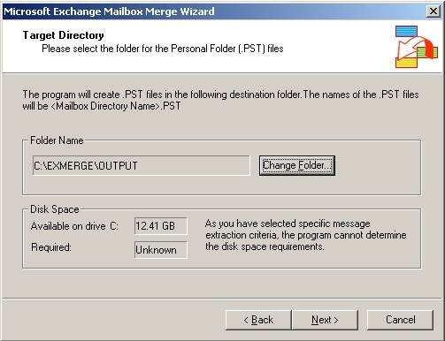 pst file converted by exmerge