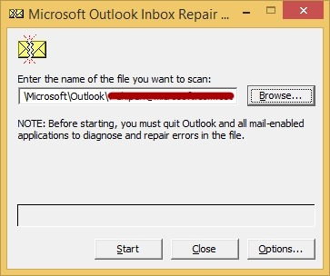 scanpst outlook repair tool