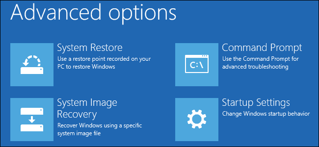 system restore to avoid blue screen error
