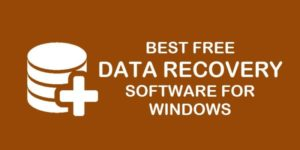 windows data recovery software free