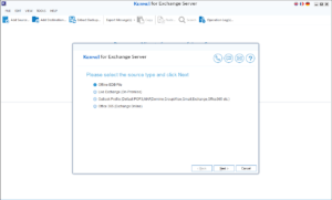 kernel exchnage recovery software