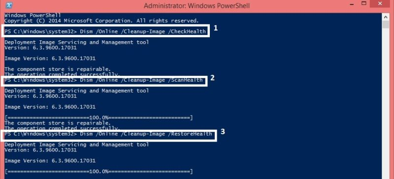 repair corrupt vhd powershell