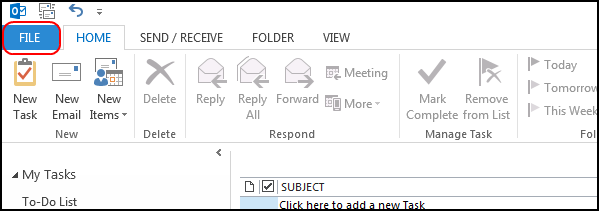 export tasks to lotus notes