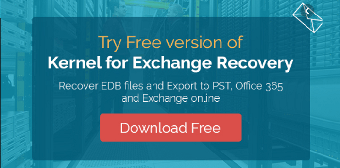 kernel exchange server recovery
