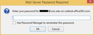 change thunderbird outgoing password