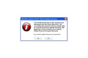 stellar reset password
