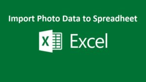 import data from photo to excel
