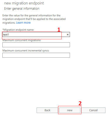 new endpoint gmail to office 365