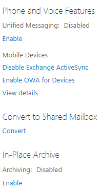 convert to shared mailbox