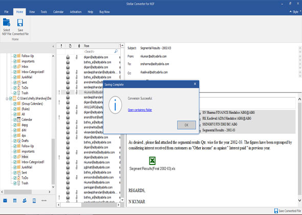 lotus notes to outlook free
